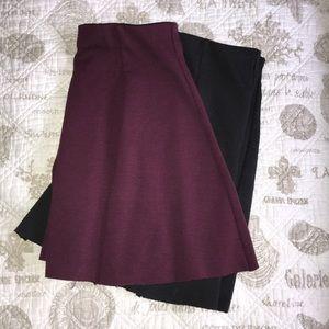 2 brandy Melville skirts for $15